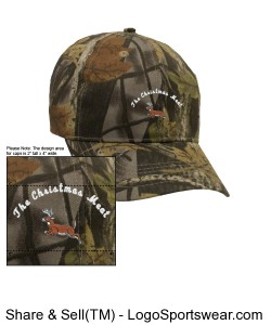 Realtree Christmas Meat Cap Design Zoom